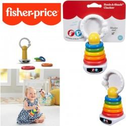 Fisher-Price: Színes gyűrűpiramis csörgő DFR09
