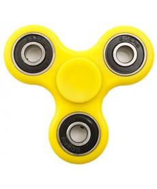 Fidget Spinner Super 360 Stresszoldó Csapágyas Játék (Sárga) 1030008