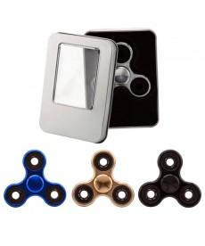 Fidget Spinner Chrome Stresszoldó Csapágyas Játék (Kék) 1030010