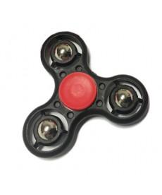Fidget Spinner Fémgolyós Stresszoldó Csapágyas Játék (Fekete) 1030009