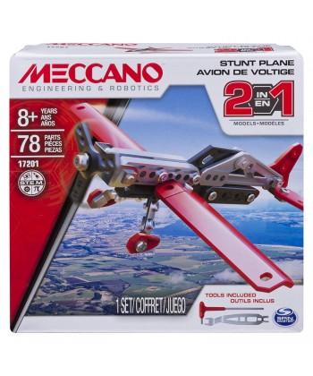 Meccano 2 az 1-ben repülő (Piros-Fekete) 6036041