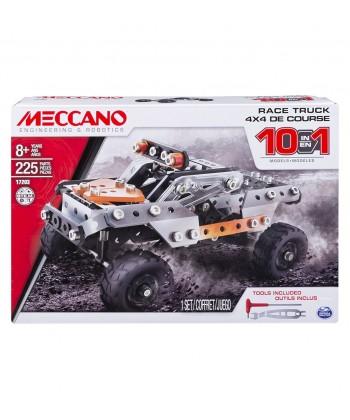 Meccano 4x4 Verseny Terepjáró (Fekete-Narancssárga) 6036038
