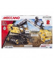 Meccano 2 az 1-ben Kezdő Szett Markoló (Fekete-Sárga) 6027036