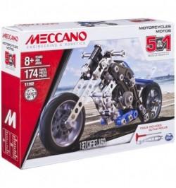Meccano 5 az 1-ben Motorkerékpár Szett 6036044