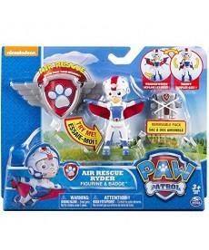Mancs Őrjárat Légimentő Ryder Figura (Piros-Fehér-Kék) 6027031