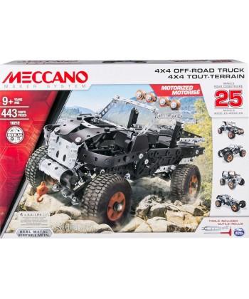 Meccano 25 az 1-ben 4X4 Off Road Truck Szett 6028599