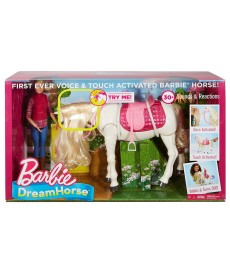 Barbie Dream Horse Intelligens Lovacska Babával FRV36