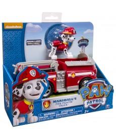 Mancs Őrjárat Marshall és Tűzoltó Járgánya (Piros) 6022627