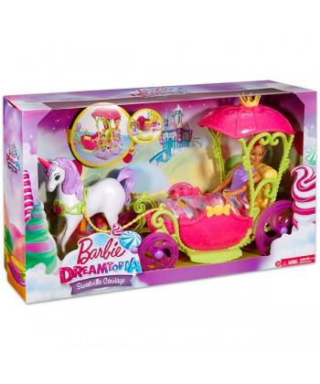 Mattel Barbie: Dreamtopia - Hintó Pegazussal Barbie babával DYX31