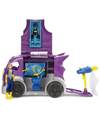 DC Super Hero Girls: Batgirl bevetési jármű akciófigurával DVG94