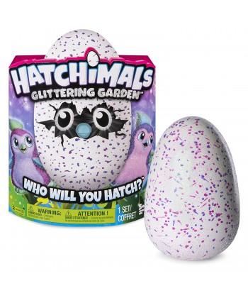 Hatchimals Penguella Glittering Garden Interaktív Tojás (Rózsaszín-Glitteres) 6037399