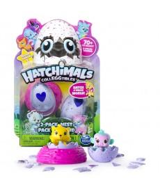 Hatchimals gyűjthető figurák tojásban 2 db-os meglepetés csomag fészekkel 6034164
