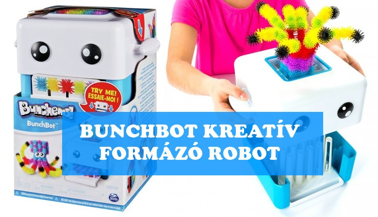 Bunchems Bunchbot Kreatív Formázó Robot