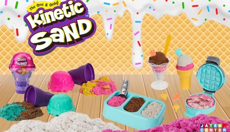 Kinetic Sand: Illatos Homokfagyi
