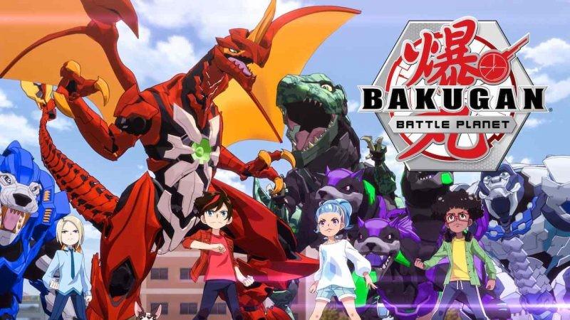 Bakugan Battle planet játékok